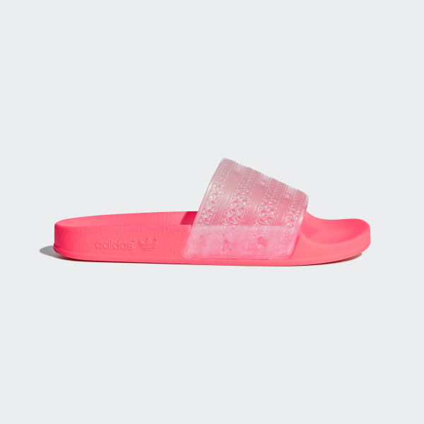 on sale 5ab3e 885eb Adilette Lilo Slides Pink Aero PinkRed Zest CQ2907