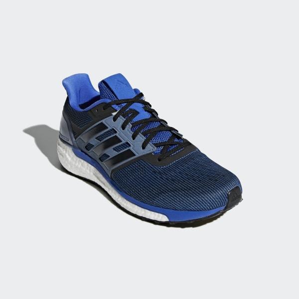 Supernova Shoes Hi-Res Blue   Core Black   Raw Steel CG4020 5756cef05