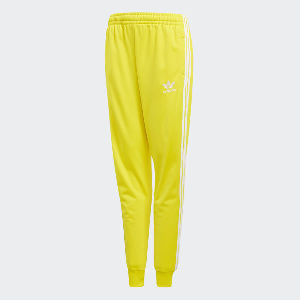 0493c0b20163 adidas SST Track Pants - Yellow
