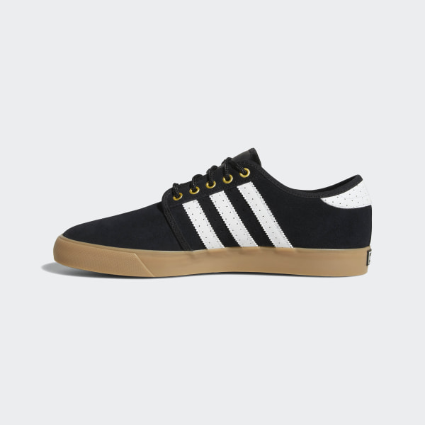 cheap for discount 97fc3 2b284 Seeley Shoes Core Black  Ftwr White  Gold Met. B27789