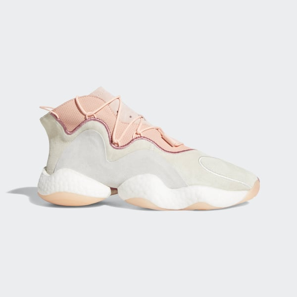 new arrivals 004d6 4f5d9 Crazy BYW Shoes Cream White  Clear Orange  Clear Grey AQ1180