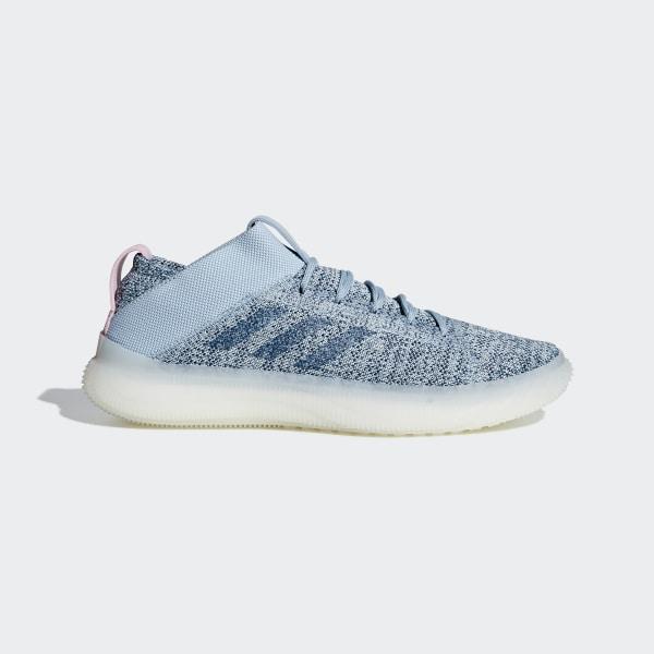 2133436fd44 Pureboost Trainer Shoes Ash Grey   Legend Marine   Ice Mint BB7220