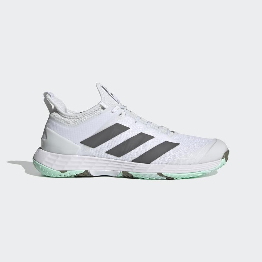 adidas Adizero Ubersonic 4 Parley Hard Court Tennis Shoes - White | adidas US