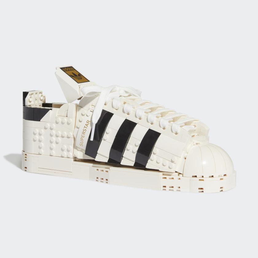 Chaussure LEGO® adidas Originals Superstar - Blanc adidas   adidas ...
