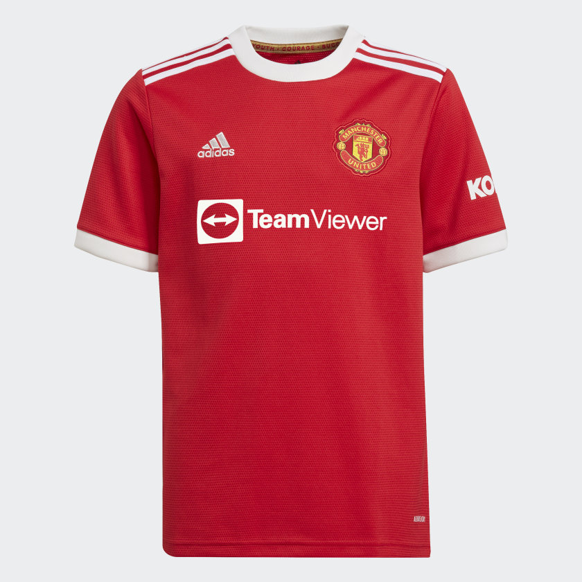 adidas Manchester United 21/22 Home Jersey - Red | adidas US