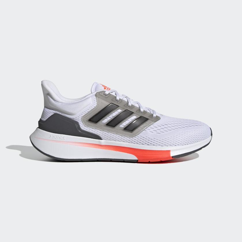 adidas EQ21 Run Shoes - White | adidas US