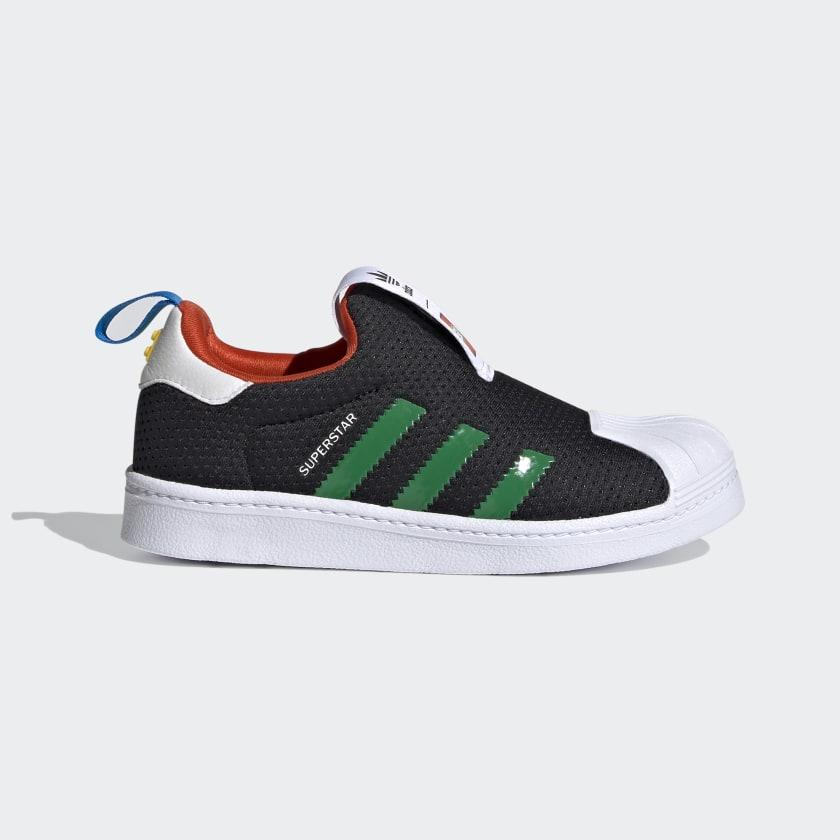adidas Superstar 360 x LEGO® Shoes - Black | adidas US