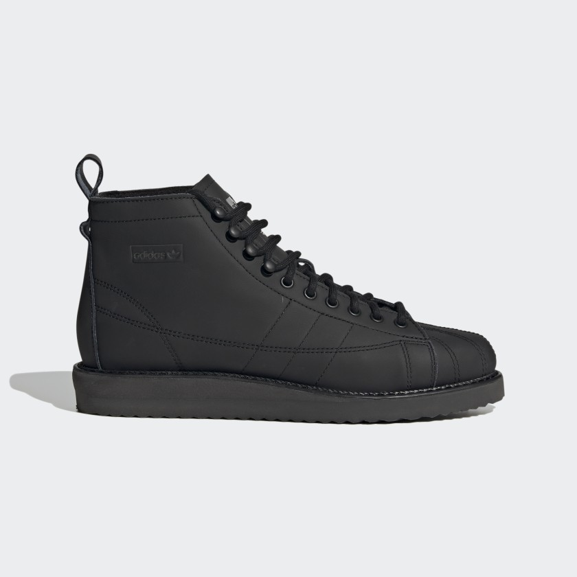 adidas Superstar Boots - Black   adidas US
