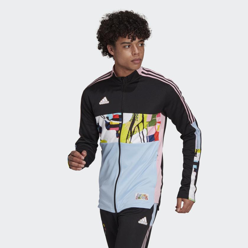 adidas Love Unites Tiro Track Jacket - Black   H50879   adidas US