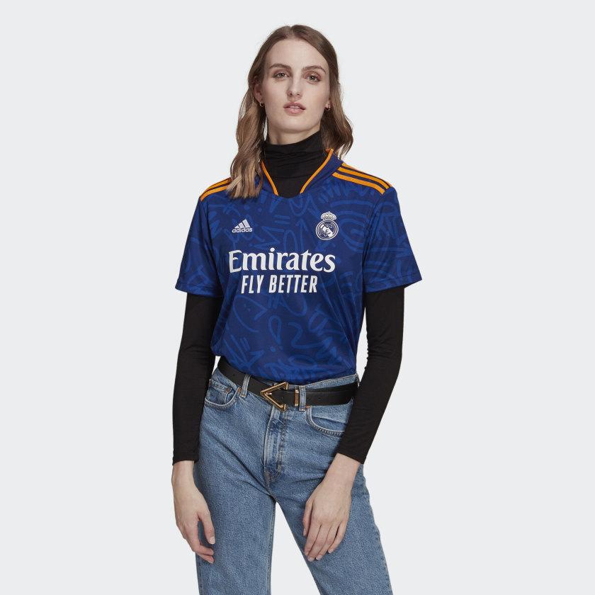 adidas Real Madrid 21/22 Away Jersey - Blue   adidas US