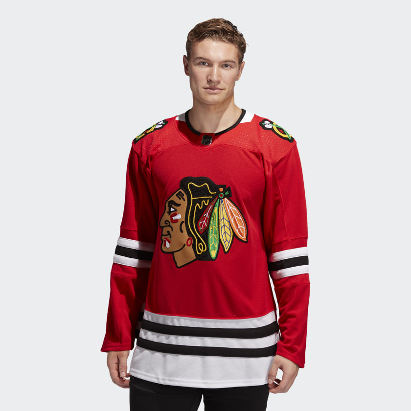 adidas Chicago Blackhawks Home Authentic Pro Jersey - Red | adidas US
