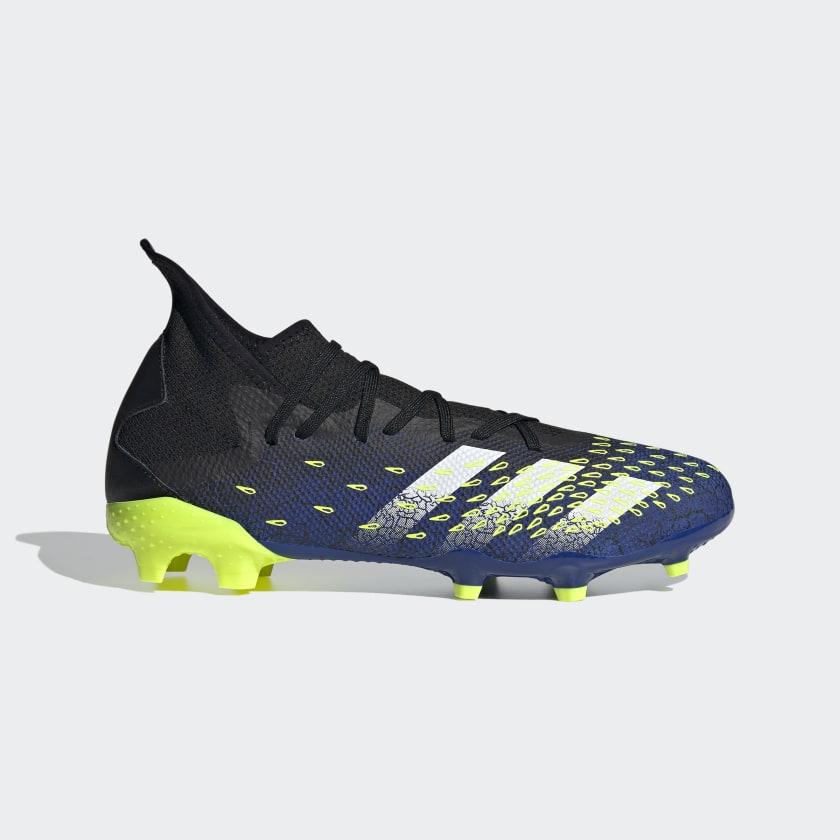 adidas PREDATOR FREAK .3 FG - Black | adidas US