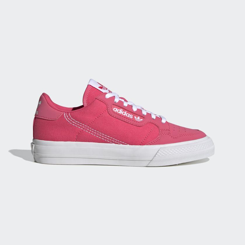 adidas Continental Vulc Shoes - Pink   adidas US