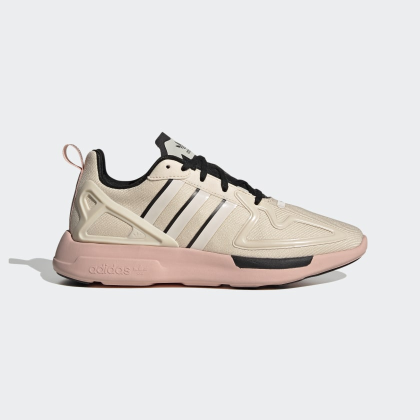 adidas ZX 2K Flux Shoes - Beige | adidas US
