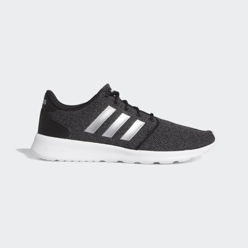 adidas Cloudfoam QT Racer Shoes - Black | adidas US