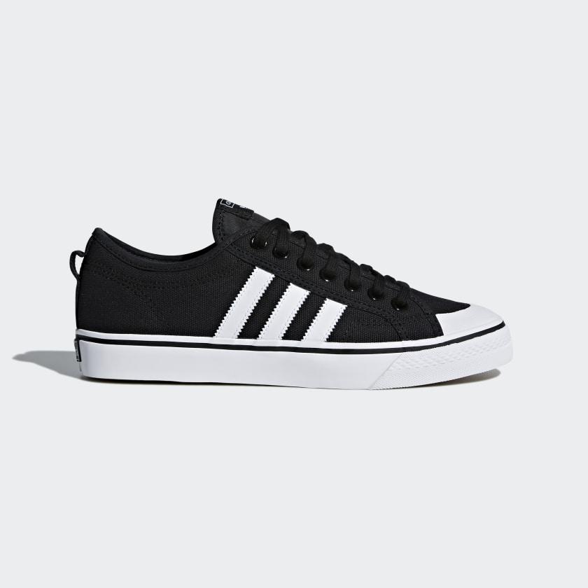 adidas Nizza Shoes - Black | adidas US