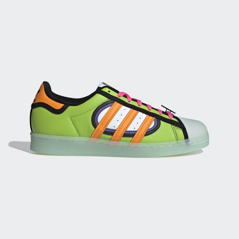 adidas Superstar The Simpsons Squishee Shoes - Green | adidas US