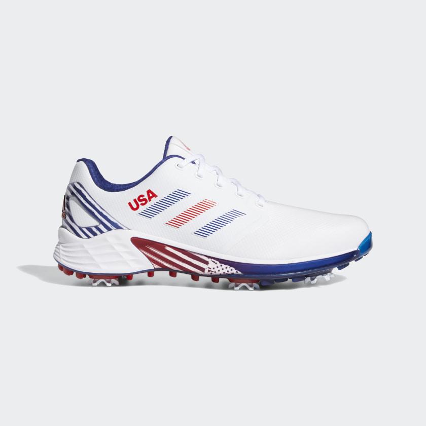 adidas ZG21 Golf Shoes - White   adidas US