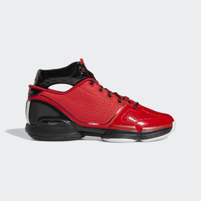adidas Adizero Rose 1 Shoes - Red | adidas US