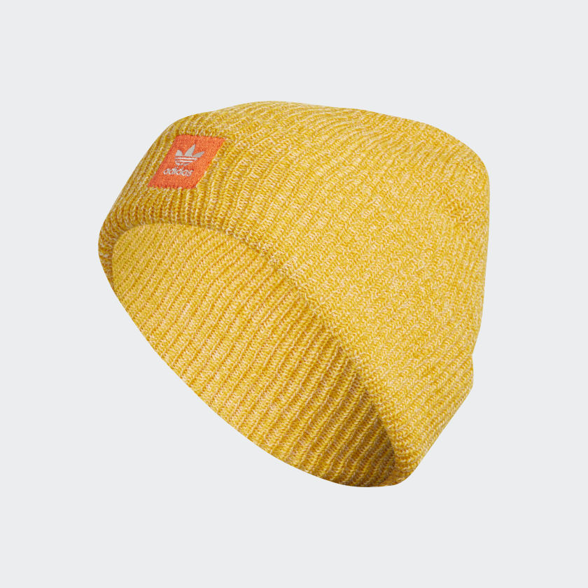 adidas Joe Logo Beanie - Yellow | adidas US