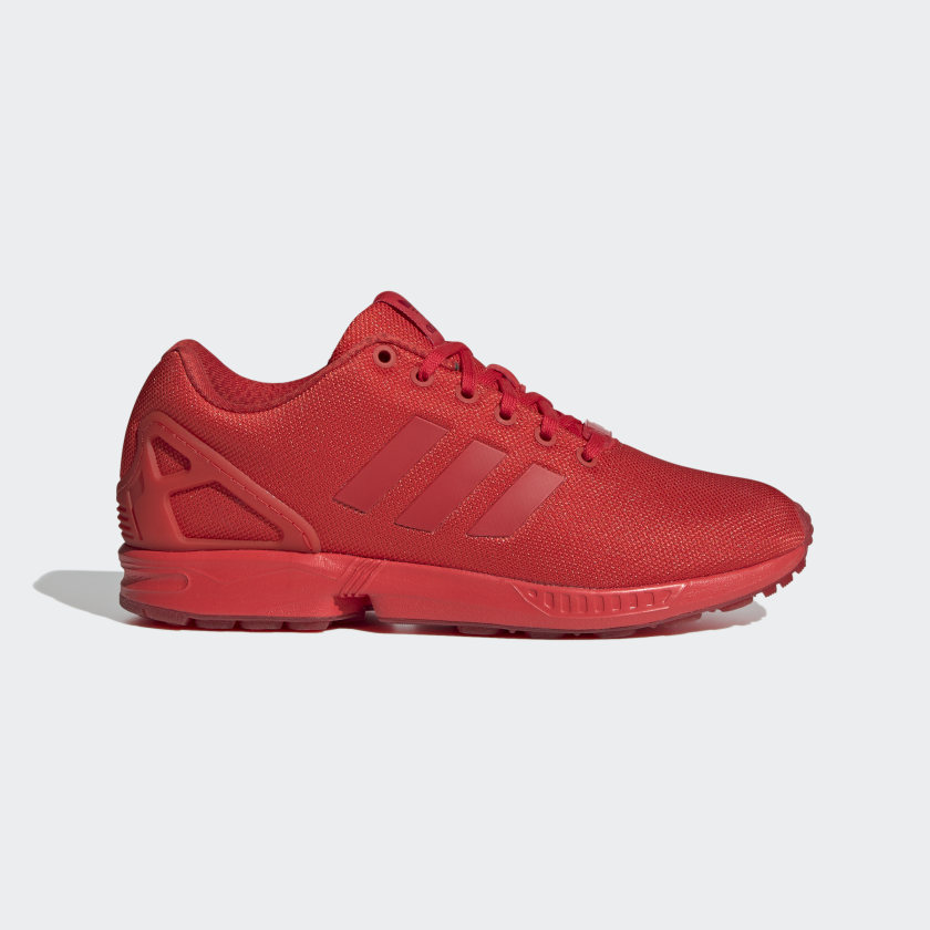 adidas Chaussure ZX Flux - rouge | adidas Canada
