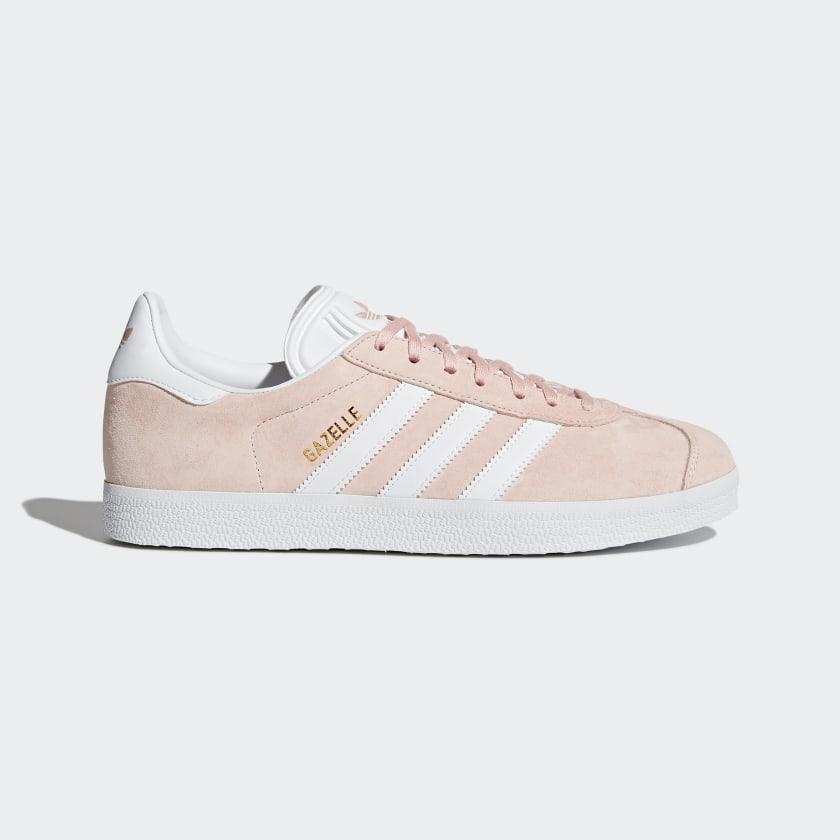 Vapor Pink & White Gazelle Shoes | adidas US