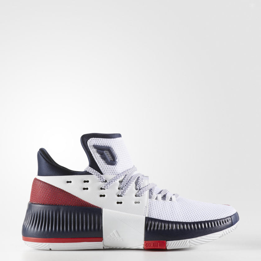 adidas Dame 3 Shoes - White | adidas US