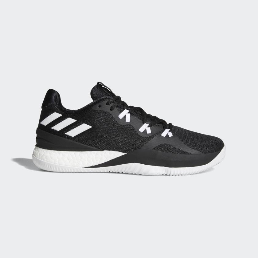 adidas Crazylight Boost 2018 Shoes - Black   adidas US