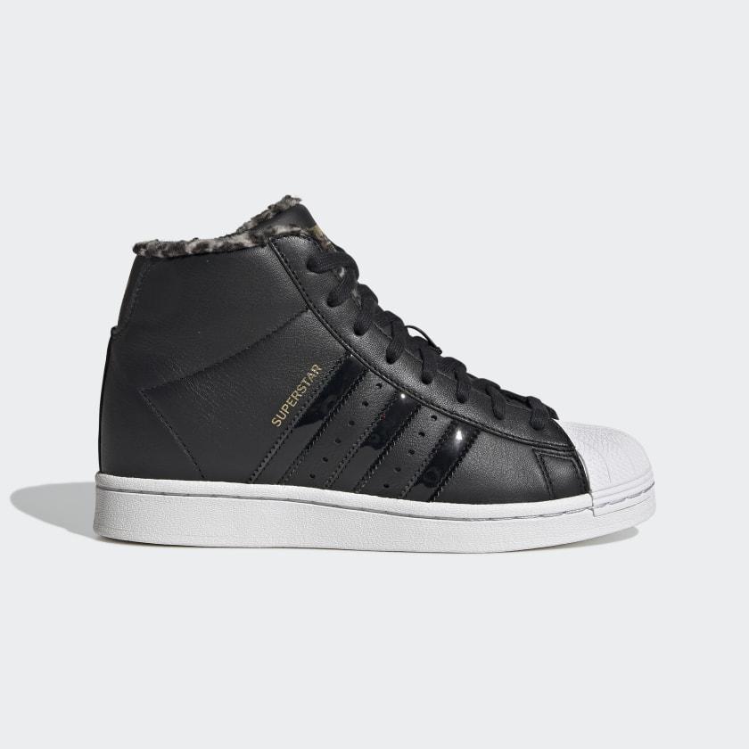 adidas Superstar Up Shoes - Black   adidas US