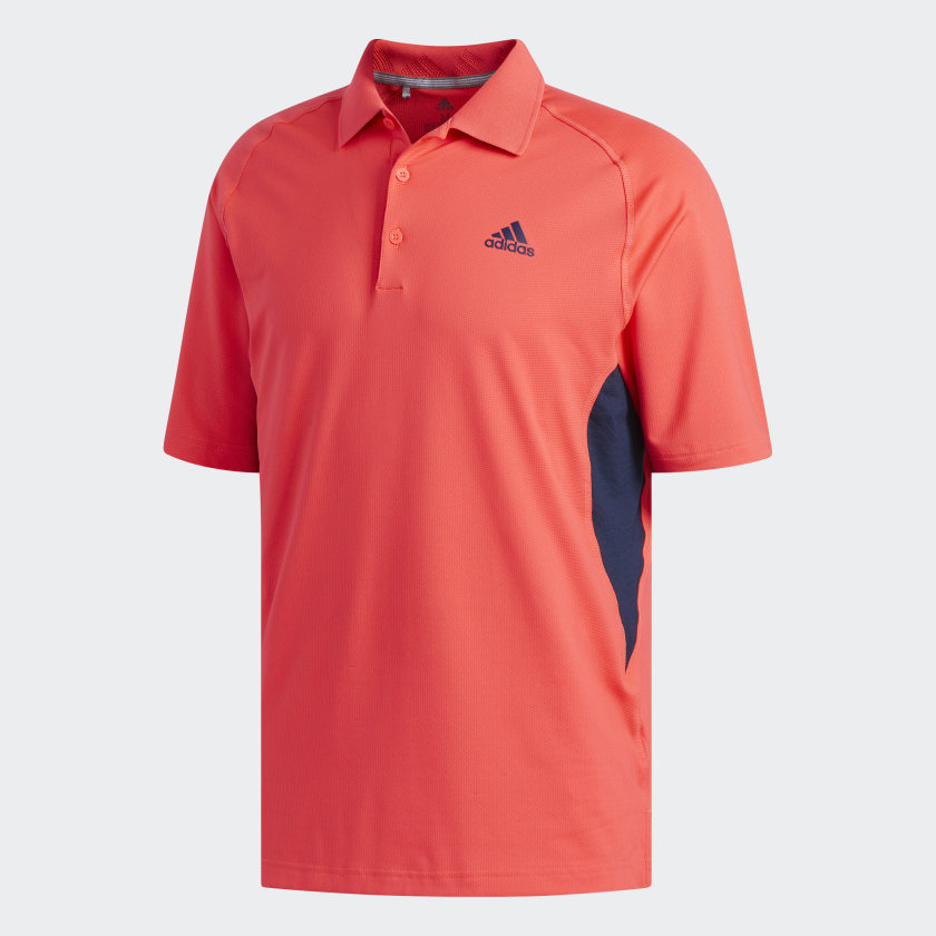 adidas Ultimate365 Climacool Solid Polo Shirt - Red | adidas US