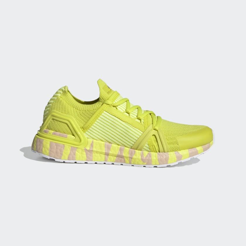 adidas By Stella McCartney Ultraboost 20 Shoes - Yellow | adidas US