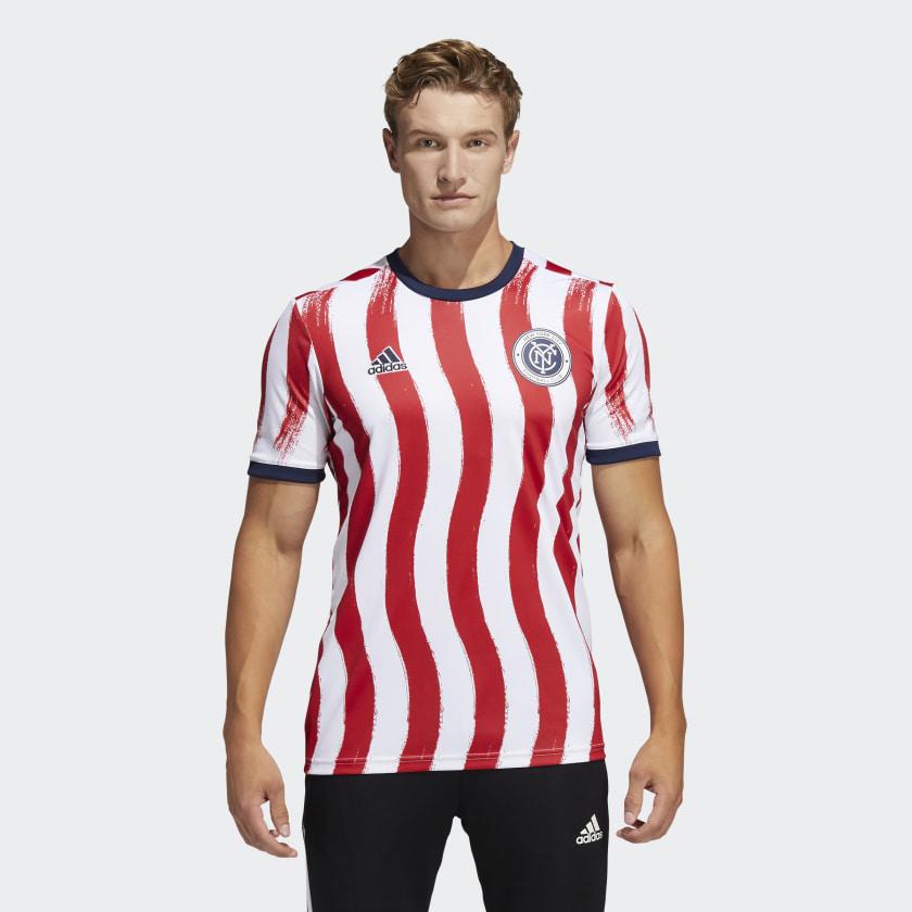 adidas New York City FC Americana Pre-Match Jersey - Multi | adidas US