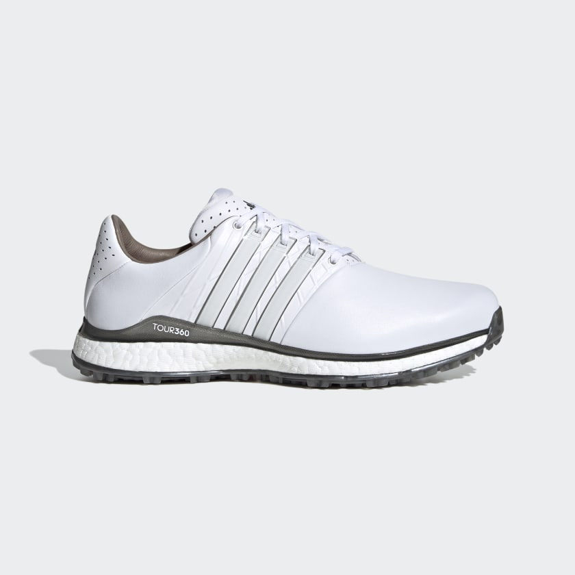 adidas TOUR360 XT-SL Spikeless 2.0 Wide Golf Shoes - White | adidas US