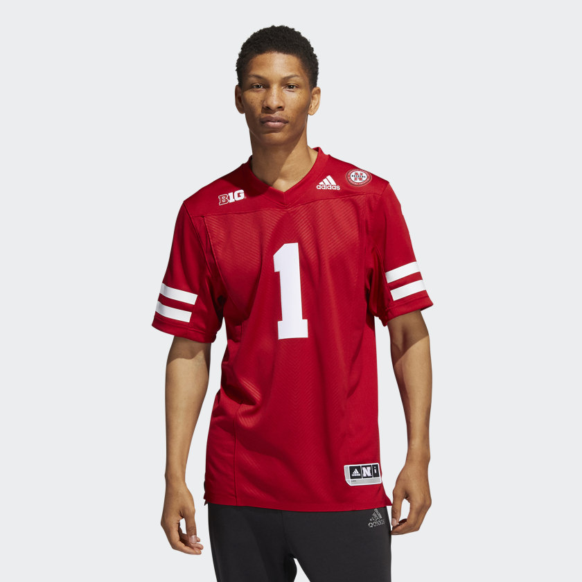 adidas Cornhuskers Home Jersey - Red | adidas US
