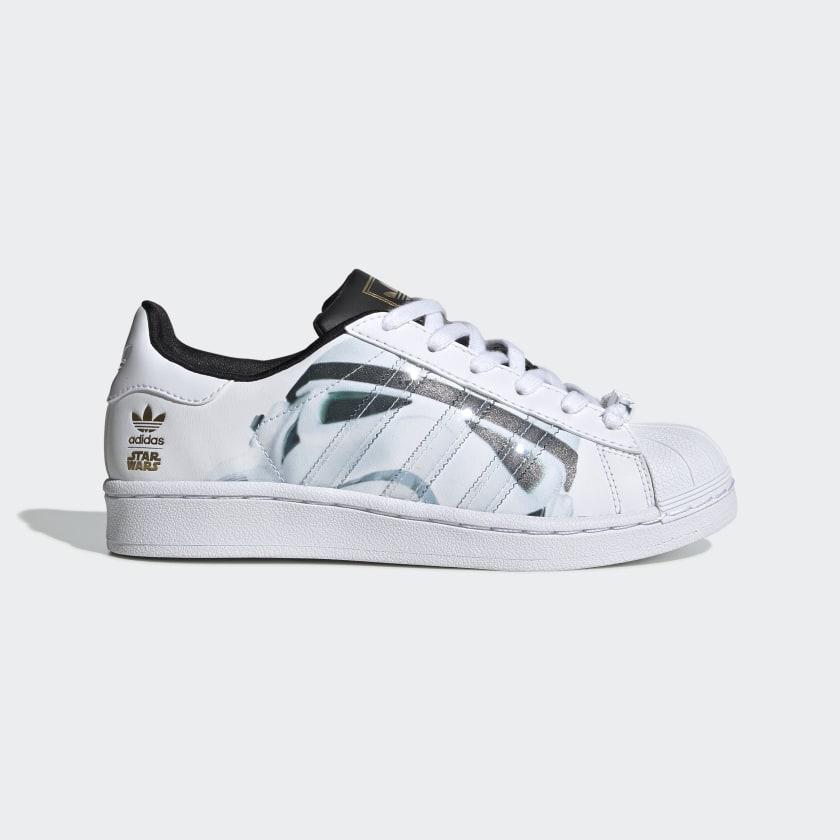 adidas Superstar Star Wars Stormtrooper Shoes - White | adidas Deutschland
