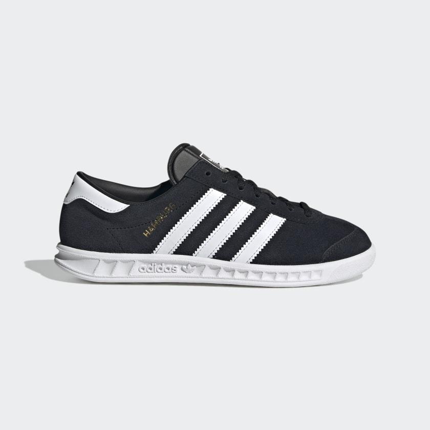 adidas Hamburg Shoes - Black   adidas US