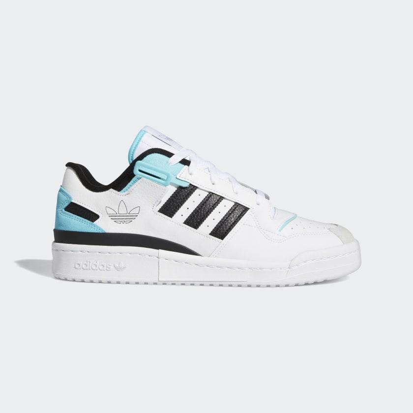 adidas Forum Exhibit Low Shoes - White   adidas US