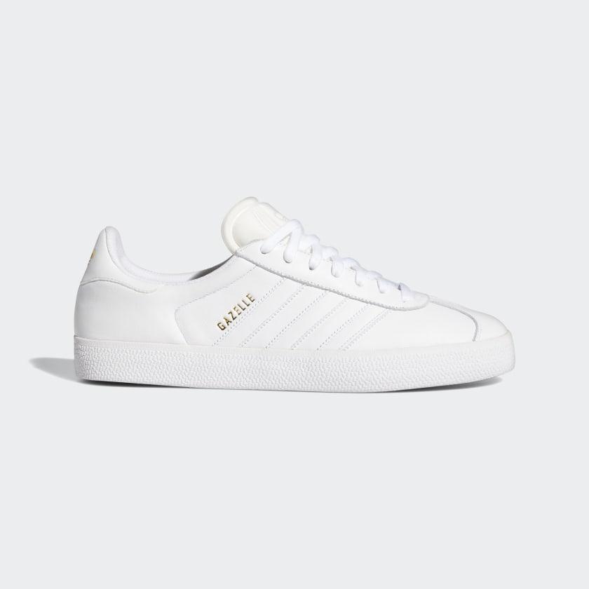 adidas Gazelle ADV Shoes - White | adidas US