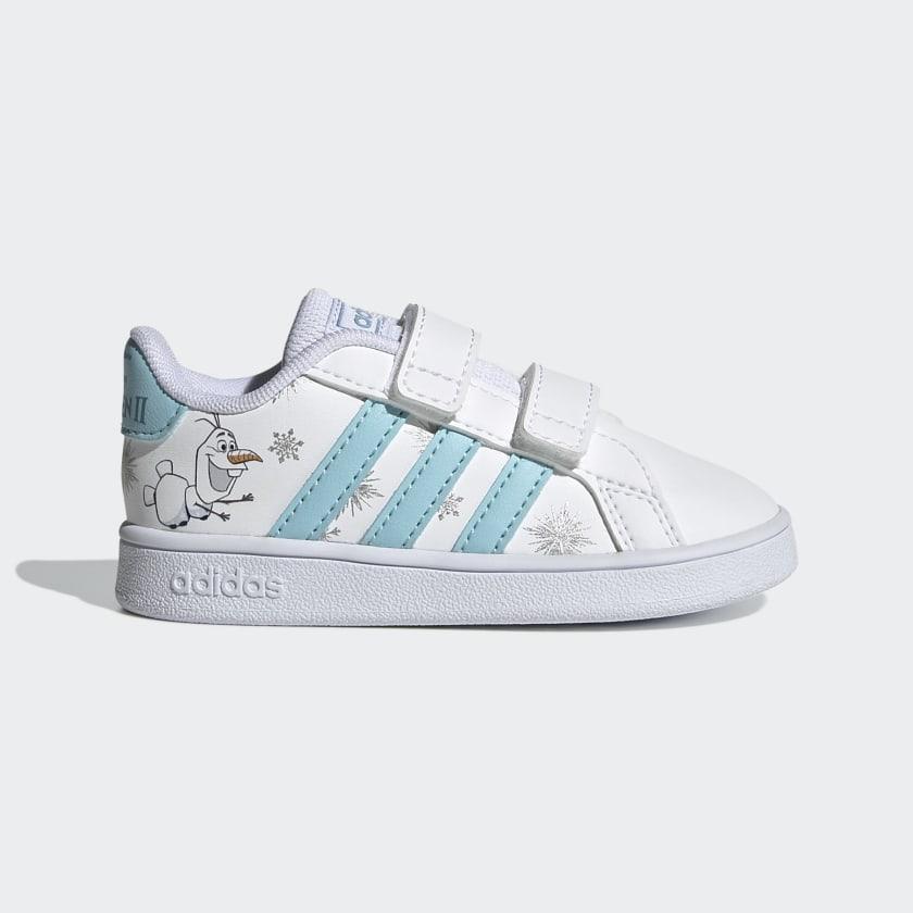 Chaussure Disney Frozen Grand Court - Blanc adidas | adidas France