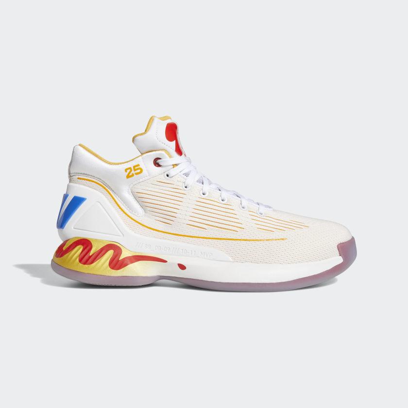 adidas D Rose 10 McDonald's Shoes - White | adidas US
