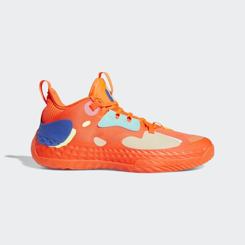 adidas Harden Vol. 5 Futurenatural Shoes - Orange | adidas US