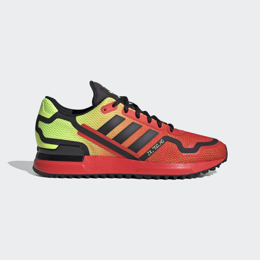 adidas ZX 750 HD Shoes - Red | adidas US