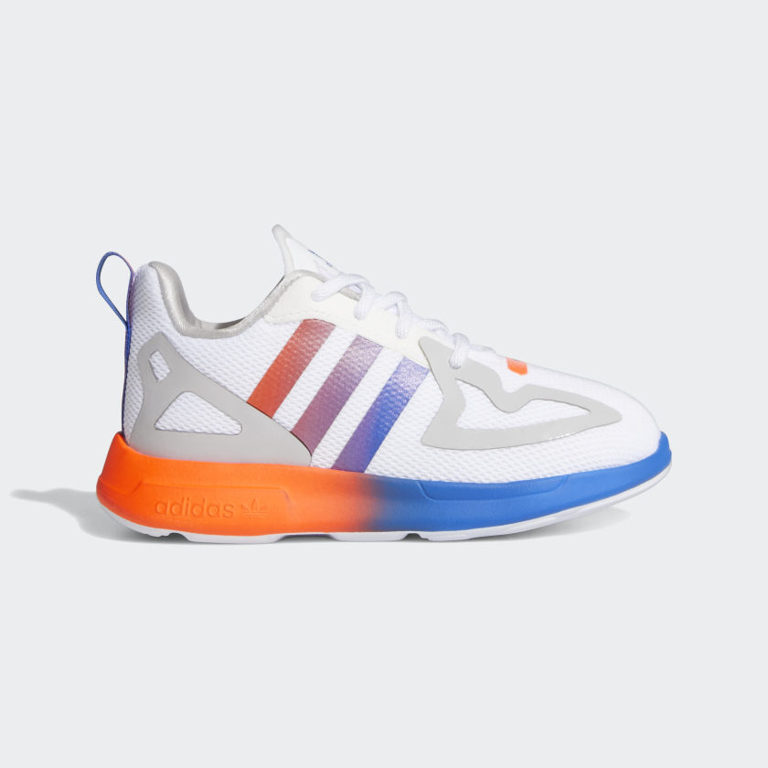 adidas ZX 2K Flux Shoes - White | adidas US