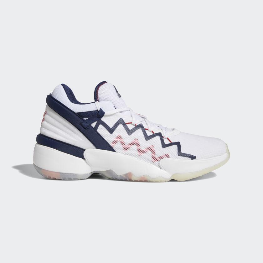 adidas D.O.N. Issue #2 Shoes - White | adidas UK