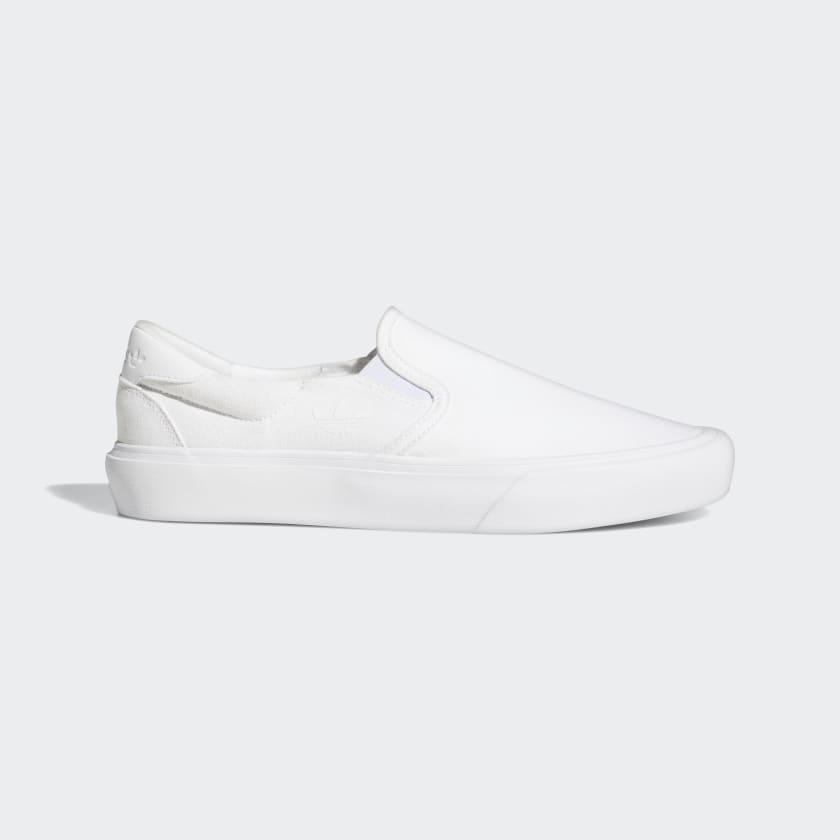 adidas Court Rallye Slip Shoes - White   adidas US