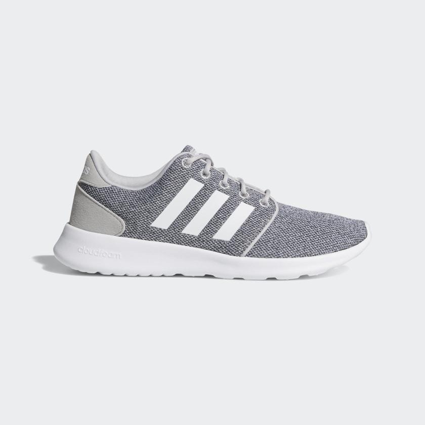 adidas Cloudfoam QT Racer Shoes - Grey | adidas US