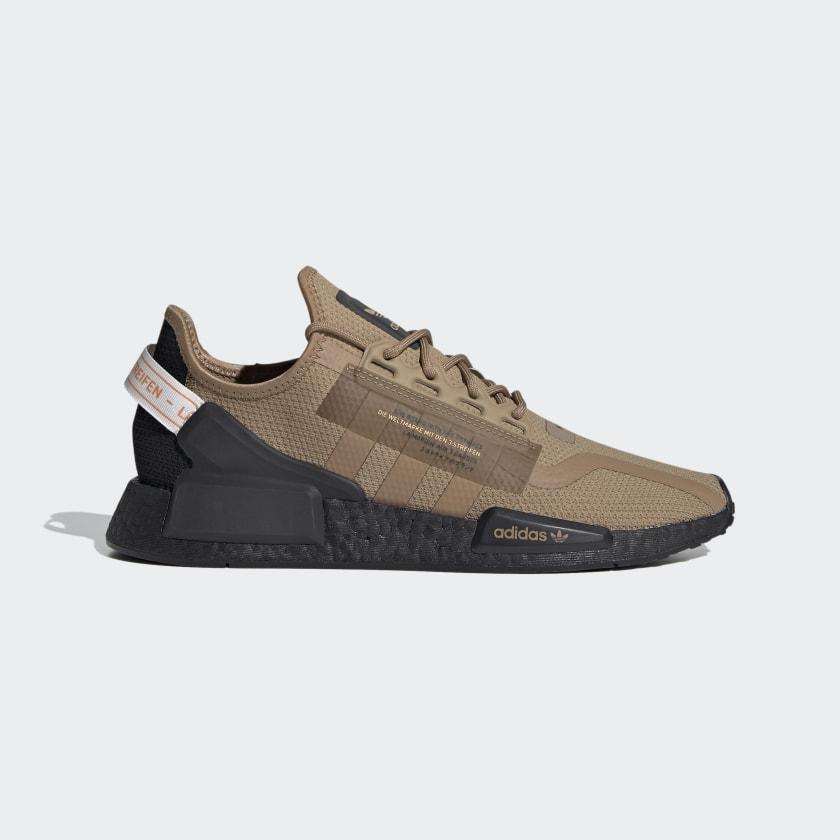 adidas NMD_R1 V2 Shoes - Brown | adidas US