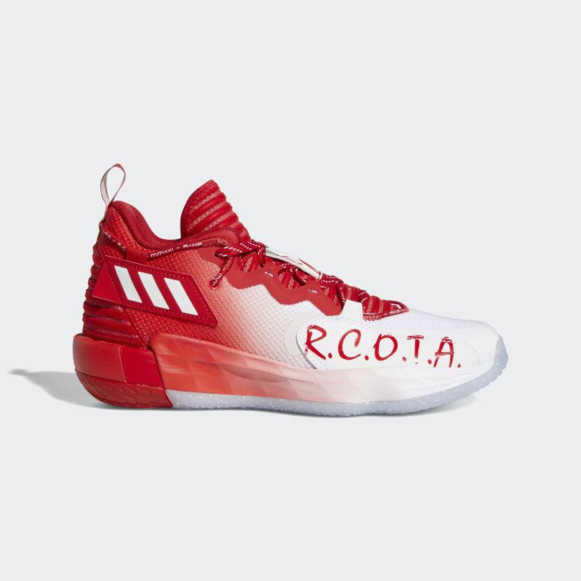adidas Dame 7 EXTPLY Shoes - White   adidas US