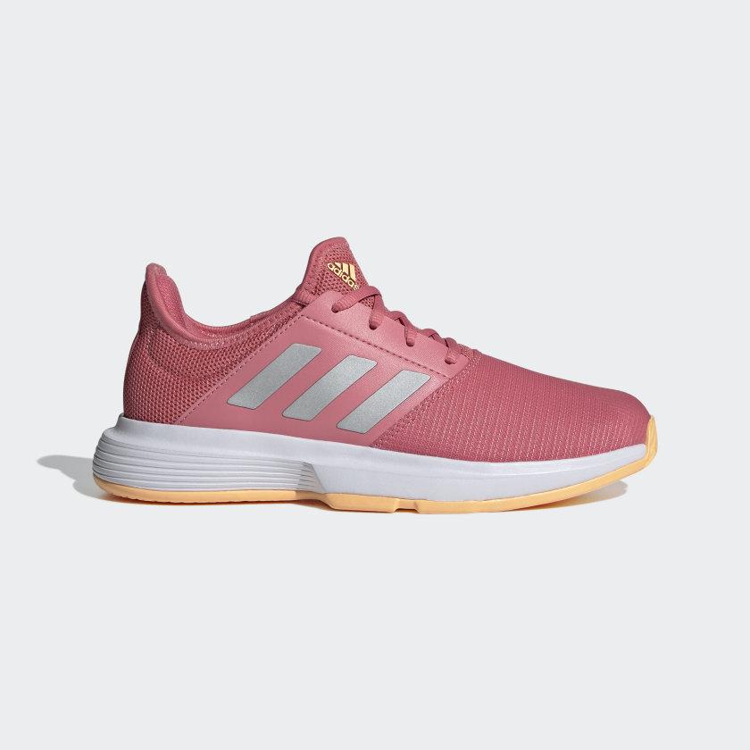 adidas GameCourt Tennis Shoes - Pink | adidas US