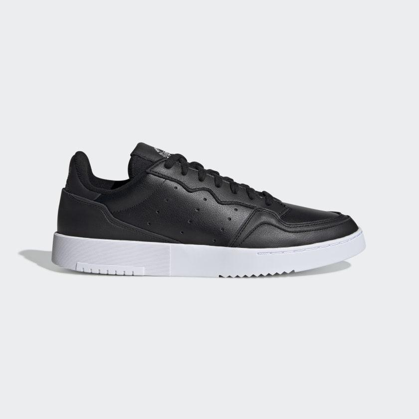 Chaussures Supercourt noires et blanches | adidas France